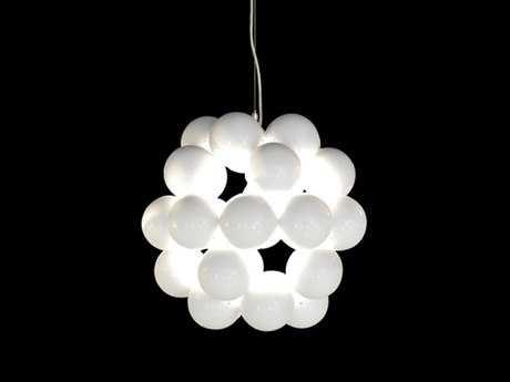 Innermost Beads Gloss White Penta Pendant