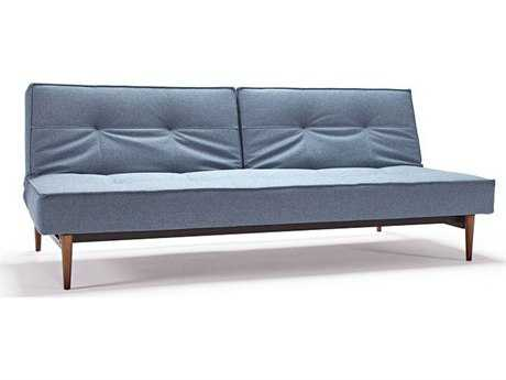 Innovation Splitback Dark Wood Leg Sofa Bed