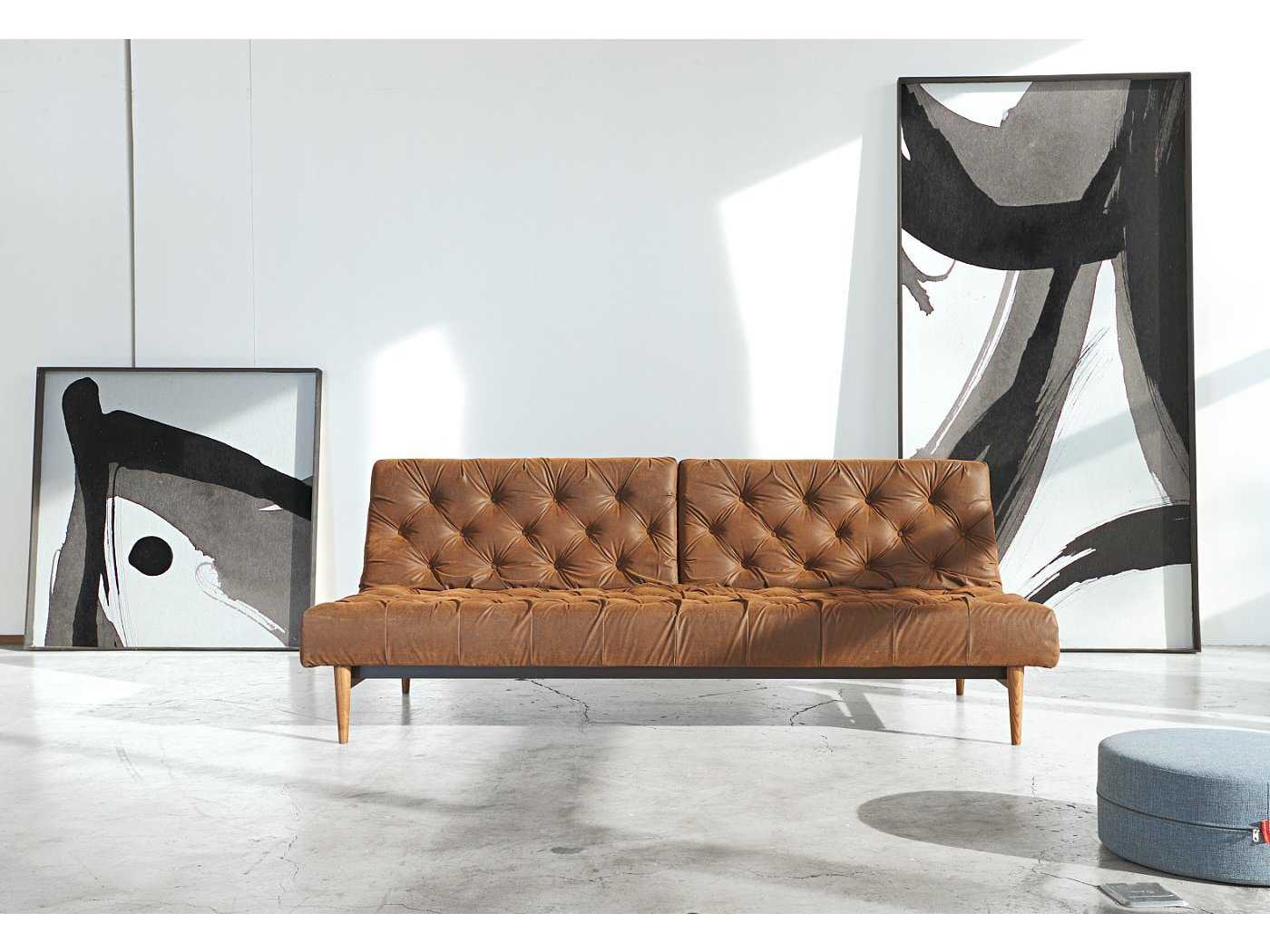 innovation oldschool chesterfield sofa bed with dark wood. Black Bedroom Furniture Sets. Home Design Ideas