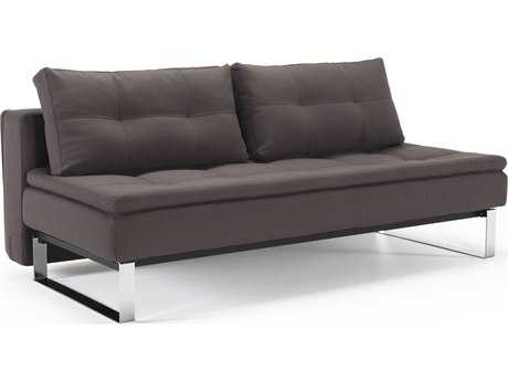 Innovation Dual Chrome Legs Sofa Bed
