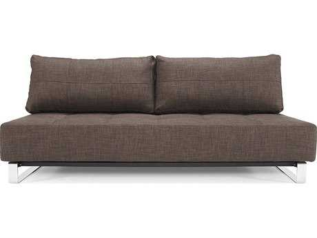 Innovation Supremax Deluxe Dark Brown Sofa Bed