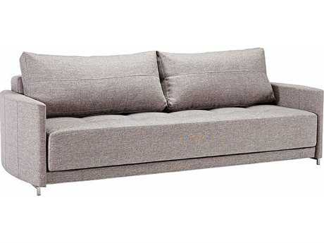 Innovation Crescent Deluxe Excess Light Grey Sofa Bed