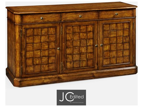 Jonathan Charles JC Edited - Casually Country Walnut Country Farmhouse Sideboard