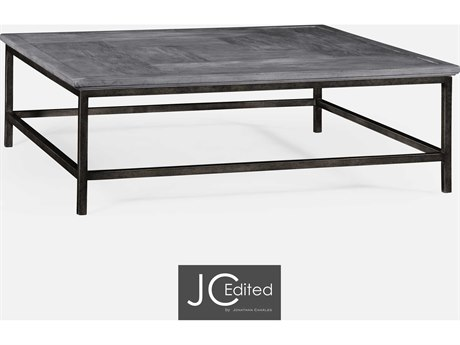 Jonathan Charles JC Edited - Casually Country Antique Dark Grey Coffee Table