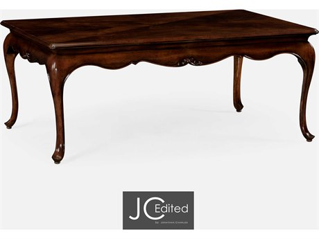 Jonathan Charles JC Edited - Classically Formal Antique Mahogany Medium Coffee Table