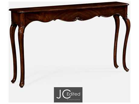 Jonathan Charles JC Edited - Classically Formal Antique Mahogany Medium Console Table