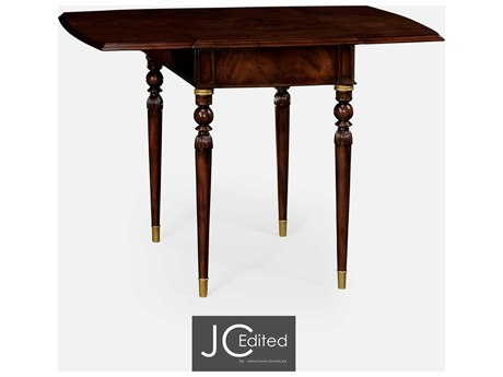 Jonathan Charles JC Edited - Classically Formal Antique Mahogany Medium End Table