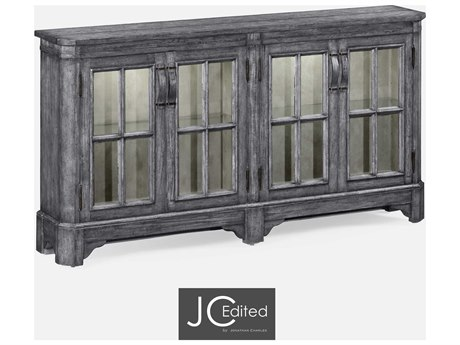 Jonathan Charles JC Edited - Casually Country Antique Dark Grey Double Dresser