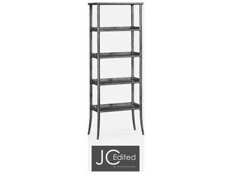 Jonathan Charles JC Edited - Casually Country Antique Dark Grey Etagere