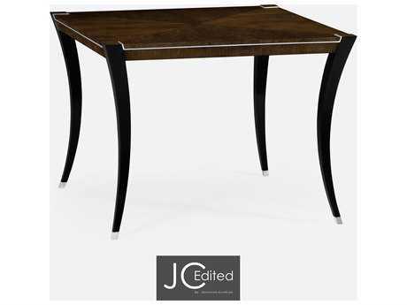 Jonathan Charles JC Edited - Comfortably Modern American Walnut On Veneer Casual Dining Table