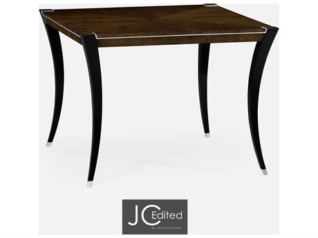 Jonathan Charles JC Edited - Comfortably Modern American Walnut On Veneer Casual Dining Table
