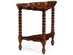 Jonathan Charles Windsor Medium Walnut 26 x 15.5 Corner End Table