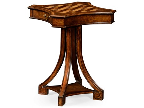 Jonathan Charles Windsor Medium Walnut 24 Square Game Table