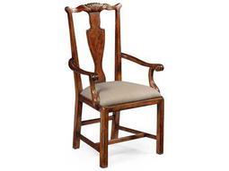Jonathan Charles Windsor Medium Walnut Dining Chair