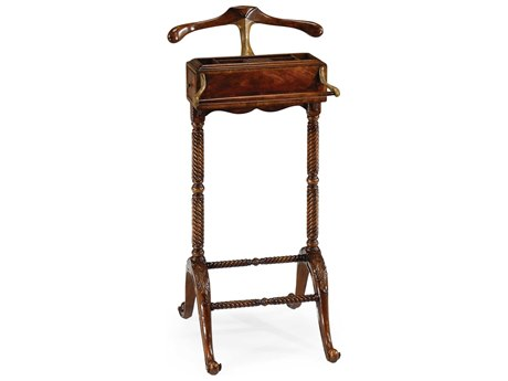 Jonathan Charles Buckingham Medium Antique Mahogany Valet Stand Rack