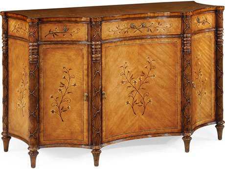 Jonathan Charles Versailles Medium Satinwood Console Cabinet