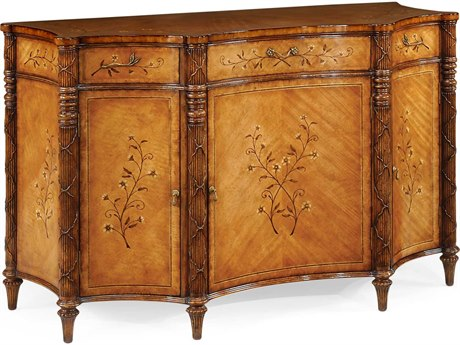 Jonathan Charles Versailles Medium Satinwood Console Cabinet