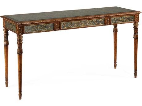 Jonathan Charles Venetian Medium Walnut 65 x 22 Rectangular Console Table