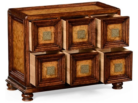 Jonathan Charles Moroccan Medium Walnut Chest