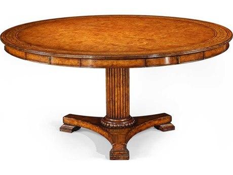 Jonathan Charles Langton Rope Twist Inlay 62 Round Dining Table