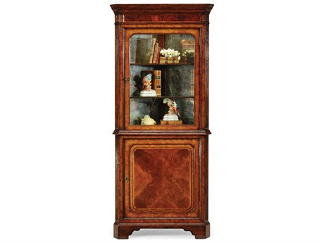 Jonathan Charles Buckingham Medium Antique Mahogany Console Cabinet