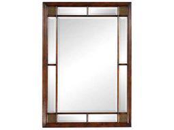 Jonathan Charles Windsor 37 x 51 Medium Walnut Wall Mirror