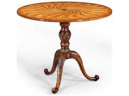 Jonathan Charles Windsor Light Walnut 36 Round Pedestal Table