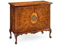 Jonathan Charles Windsor Light Crotch Walnut Console Cabinet