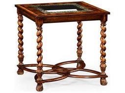 Jonathan Charles Windsor Medium Walnut 26 Square End Table