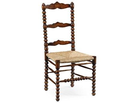 Jonathan Charles Country Farmhouse Dark Walnut Dining Chair