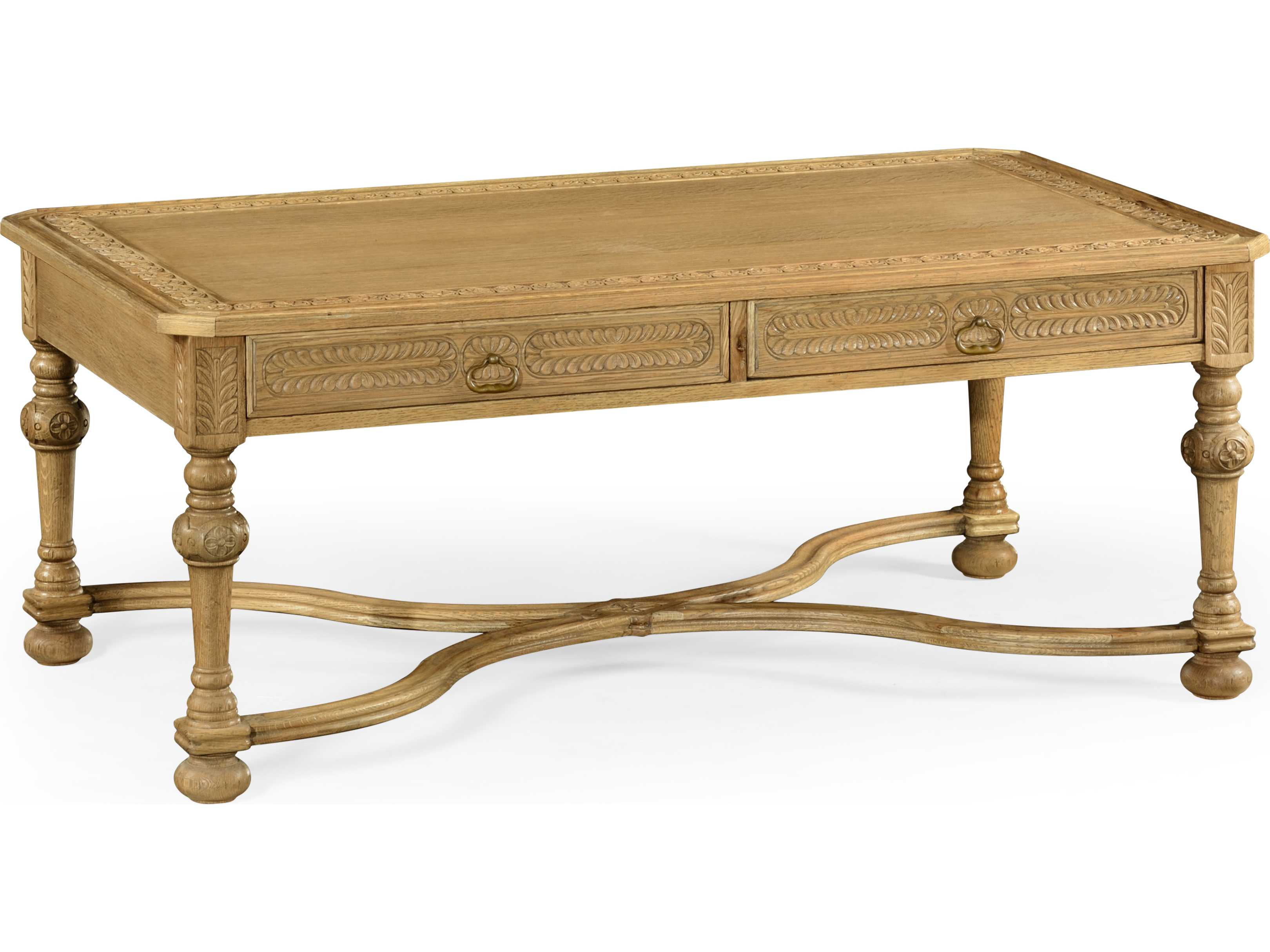 Jonathan charles natural oak light natural oak 50 x 29 5 rectangular coffee table jc493129l Light oak coffee tables