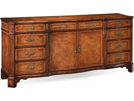 Jonathan Charles Windsor Medium Crotch Walnut 84 x 21.5 Buffet