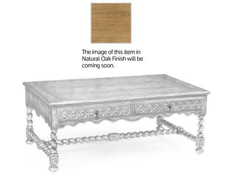 Jonathan Charles Natural Oak Light Natural Oak 50 x 30 Rectangular Coffee Table