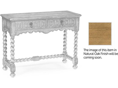 Jonathan Charles Natural Oak Light Natural Oak 42 x 17 Rectangular Console Table