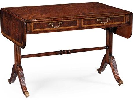 Jonathan Charles Buckingham Medium Antique Mahogany 43 x 30 Rectangular Console Table