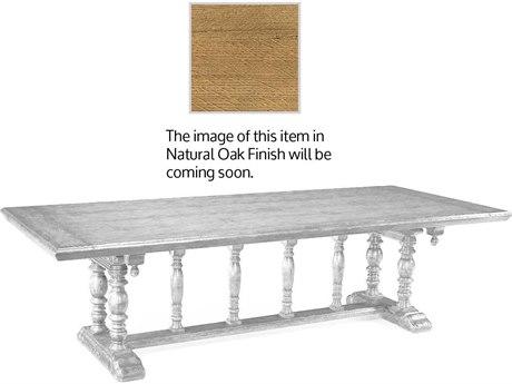Jonathan Charles Natural Oak Light Natural Oak 108 x 46 Rectangular Dining Table