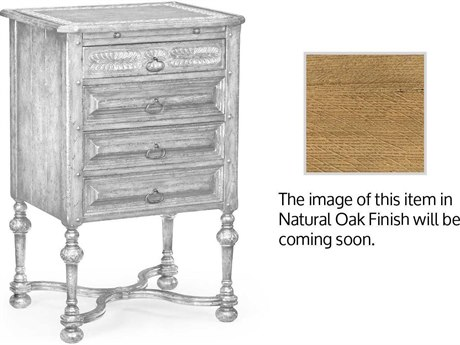 Jonathan Charles Natural Oak Light Natural Oak Chest Cabinet