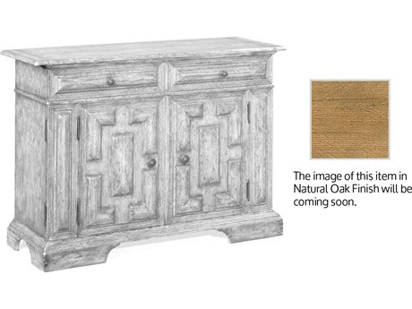 Jonathan Charles Natural Oak Light Natural Oak Console Cabinet