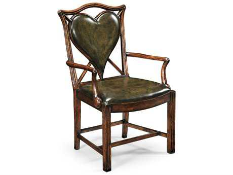 Jonathan Charles Windsor Medium Figure Walnut Dining Chair