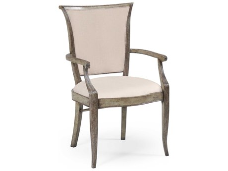 Jonathan Charles Country Farmhouse collection Painted Country Sage Accent Arm Chair