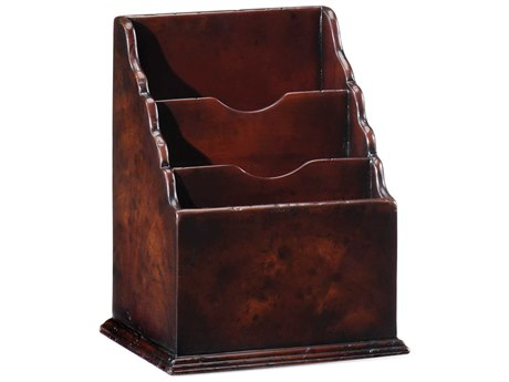 Jonathan Charles Buckingham Medium Antique Mahogany Magazine Rack