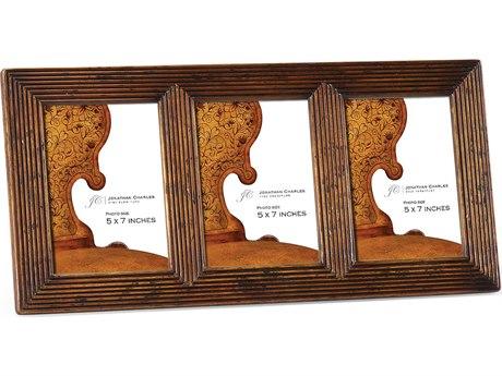 Jonathan Charles Portobello Medium Walnut Picture Frame
