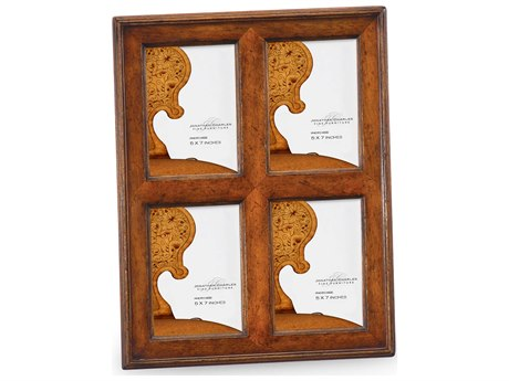 Jonathan Charles Country Farmhouse Light Walnut Picture Frame