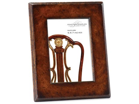 Jonathan Charles Windsor Medium Crotch Walnut Picture Frame
