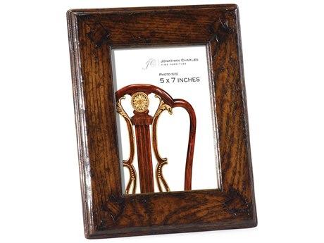 Jonathan Charles Tudor Oak Dark Brown Tudor Oak Picture Frame
