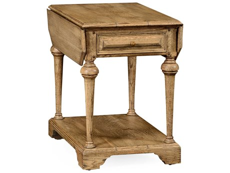 Jonathan Charles Natural Oak Light Natural Oak 20.5 x 28 Rectangular Console Table