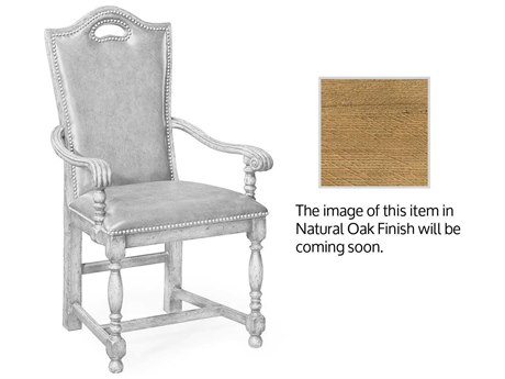 Jonathan Charles Natural Oak Light Natural Oak Accent Chair