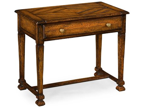 Jonathan Charles Huntingdon Medium Figured Walnut 32 x 18 Rectangular Console Table