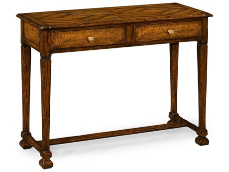 Jonathan Charles Huntingdon Medium Figured Walnut 41.75 x 18 Rectangular Console Table