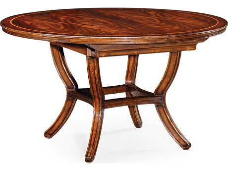 Jonathan Charles Buckingham Medium Antique Mahogany 54 Oval Dining Table